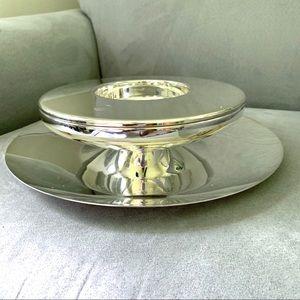 Vtg Petrossian Christofle Caviar presentoir server